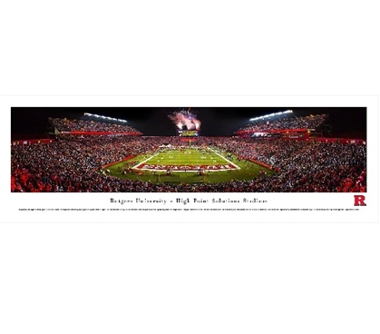 Rutgers University - High Point Solutions Stadium Panorama Dorm Essentials College Supplies