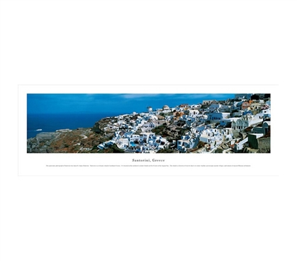 Santorini, Greece - Panorama