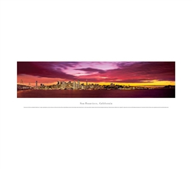 San Francisco, California - Skyline Panorama