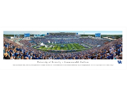 Kentucky Wildcats - Commonwealth Stadium Dorm Wall Art College Wall Decor