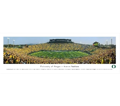 Dorm Wall Art University of Oregon - Autzen Stadium Panorama Dorm Room Decorations