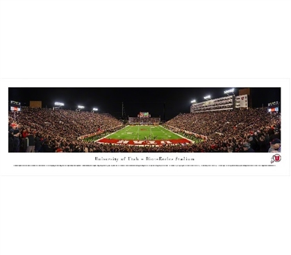 Dorm Room Decorations University of Utah - Rice-Eccles Stadium Panorama Dorm Room Decor