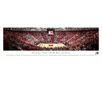 Dorm Room Decorations University of Utah - Jon M. Huntsman Center Panorama Dorm Room Decor