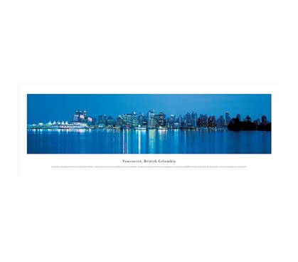 Vancouver, British Columbia - Skyline Panorama