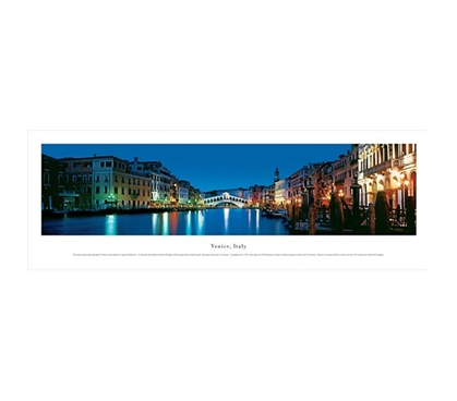 Venice, Italy - Twilight Panorama