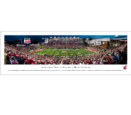 Dorm Essentials Washington State University - Martin Stadium Panorama Dorm Room Decorations