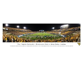 Dorm Wall Art Dorm Essentials West Virginia University - Mountaineer Field at Milan Puskar Stadium Panorama