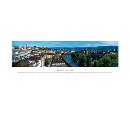 Zurich, Switzerland - Panorama