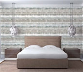 Fade Emerald Sand Designer Removable Wallpaper For Dorms College Decorations College Wall Decor