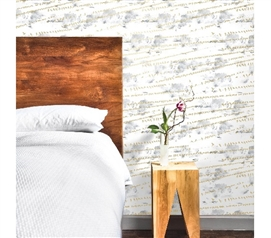 Flock Sunrise Gold Designer Removable Wallpaper For Dorms Dorm Essentials