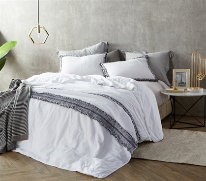 Boa Noite - 200TC Washed Percale Twin XL Quilted Comforter