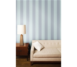 Decorate Your Dorm - Cotton Stripe Designer Removable Wallpaper - Great Products For College