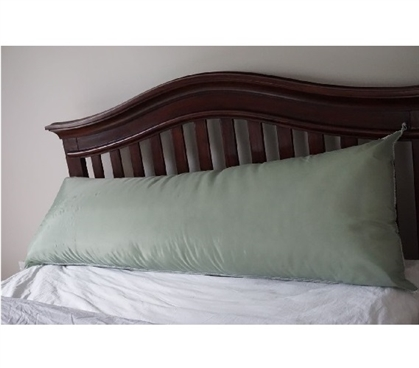 Increase Comfort - Dorm Bedding Body Pillow - Green - Cool Dorm Stuff