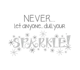 Dorm Accessories - Your Sparkle Wall Decor - Peel N Stick
