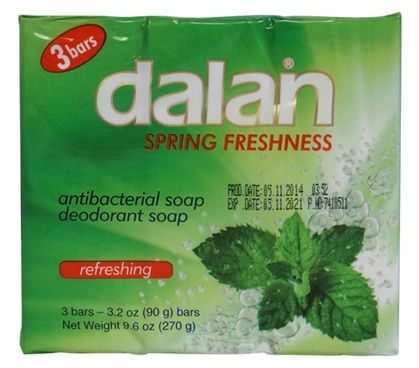 Bar Soap - Spring Fresh - 3 Bar Pack Dorm Essentials