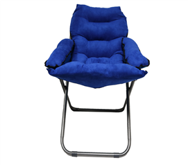 College Club Dorm Chair - Plush & Extra Tall - Blue