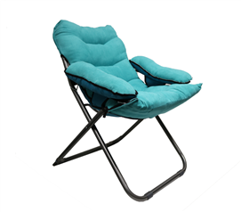 College Club Dorm Chair - Plush & Extra Tall - Teal