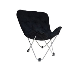Dorm Lounge Chairs - Oversized Butterfly Chair - Black - Additional Seating