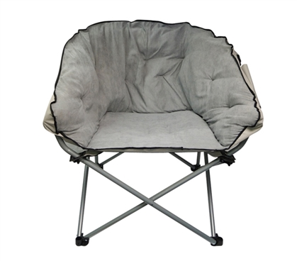 Oversized College Chair - Stone Gray Dorm Essentials