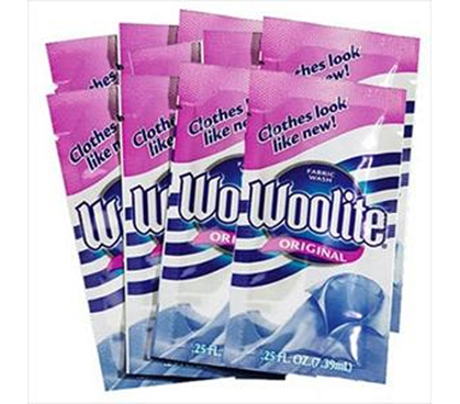 Dorm Laundry Supplies - Individual Woolite Washing Detergent (10 Packs) - Dorm Laundry
