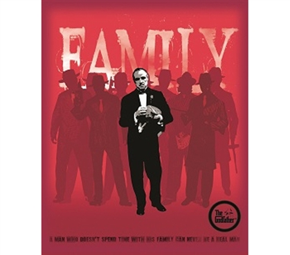 Be A Part Of The Godfather Family - Tin Sign College Decor