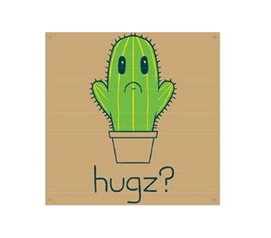 A Cute Dorm Decoration - HUGZ? - Tin Sign - Funny Wall Decor For Dorms