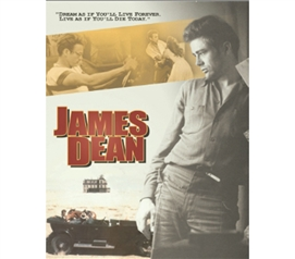 Iconic James Dean The Dream - Movie Decor & College Tin Sign