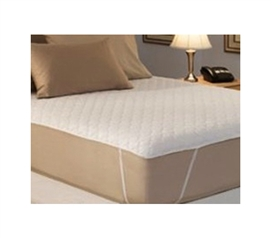 Mattress Comfort Pad 100% Cotton Top - Twin XL Bedding - Anchor Band Secure