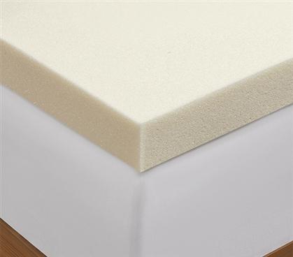 2 Inch Memory Foam Mattress Topper Twin Xl Bed Topper Made