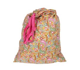 Do Laundry In College - Ashbury Paisley - College Laundry Bag - Dorm Essential