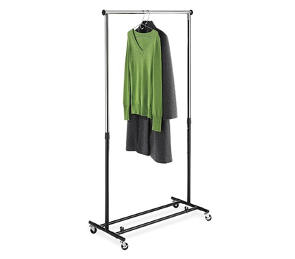 Must-Have College Supply - Folding Dorm Clothes Rack - Great For Clothes Organization