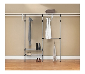 Useful Supply For College - The Complete Closet Organizational Kit - Keeps College Closet Organized