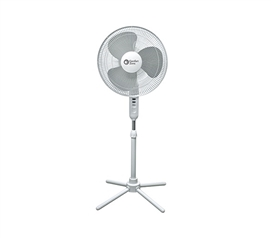 "Quad Pod - 16"" Oscillating Pedestal Fan Dorm Essential"