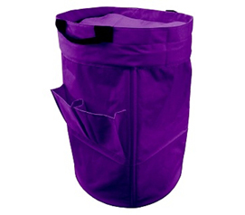 Oversized College Laundry Duffel Bag - Purple - Holds A Lot Of Clothes