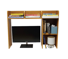 Dorm Organizer - Classic Dorm Desk Bookshelf - Storage
