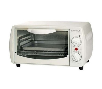Dorm Kitchen Supplies - 4 Slice Toaster Oven - Cooking Essentials