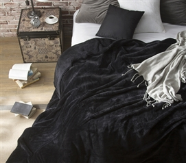 Coma Inducer - Twin XL Bedding Blanket - Black