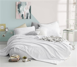 Coma Inducer - Twin XL Bedding Blanket - White