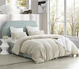 Coma Inducer Twin XL Duvet Cover - The Original - Almond Milk