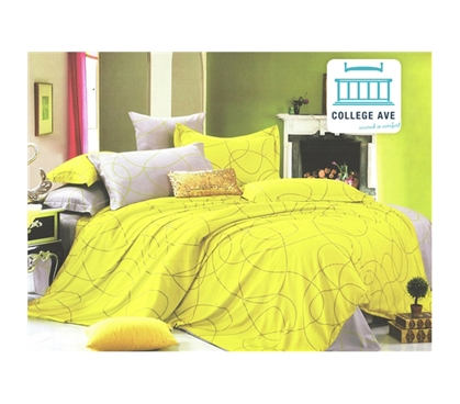 Floresce Twin XL Comforter Set - College Ave Designer Series College Products Bedding For Dorms