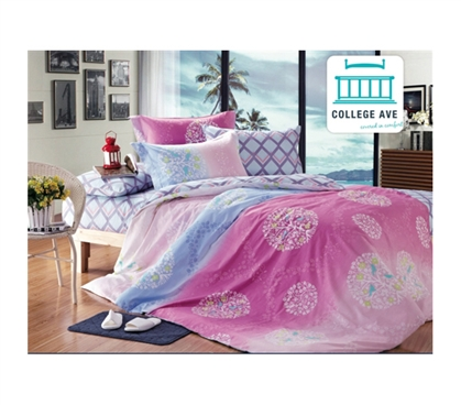 Frosted Lolly Twin XL Comforter Set - College Ave Designer Series - Cotton Twin XL Bedding