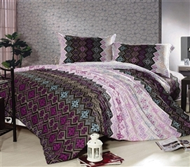 Majestic Abstract Twin XL Comforter Set - College Ave Designer Series - Dorm Room Comforter