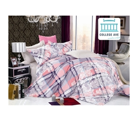 Chalet Stitch Twin XL Comforter Set - College Ave Designer Series - Classic Design Comforter