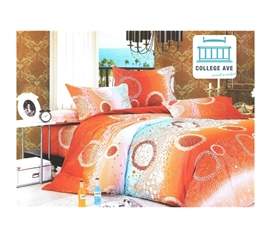 Radiant Sea Floor Twin XL Comforter Set - College Ave Designer Series - Adds To Dorm Decor