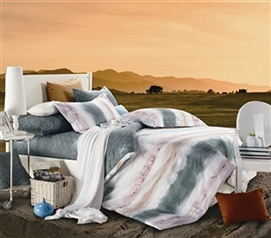Sunset Plains Twin XL Comforter Set - College Ave Designer Series Dorm Room Bedding