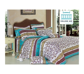 Comfy College Bedding - Talia Twin XL Comforter Set - College Ave Designer Series - Great Decor For Your Dorm
