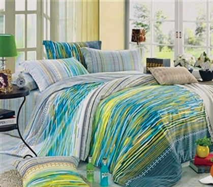 Manado Bay Twin XL Comforter Set - College Ave Designer Series - Dorm Comforters Are Essential