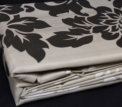Floret Print Twin XL Sheet Set - College Ave Designer Series Extra Long Twin Sheets