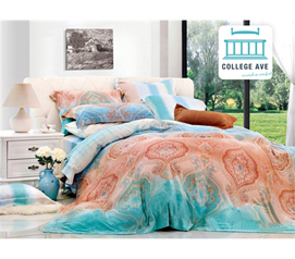 Soft Bedding - Florid Meld Twin XL Comforter Set - College Ave Designer Series - Comforter For College Girls