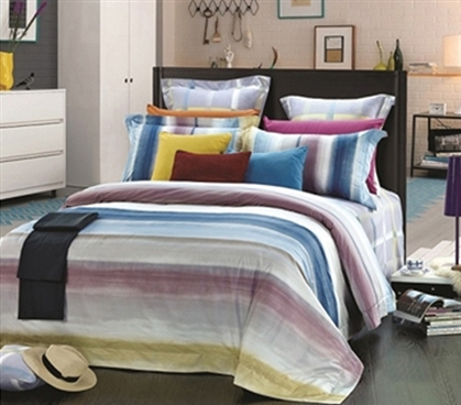 Dorm Bedding Supplies - Cyreen Twin XL Comforter Set - College Ave Designer Series - College Essential